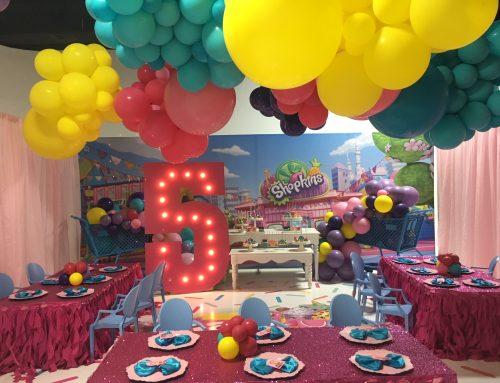 Shopkins Theme Birthday Celebration
