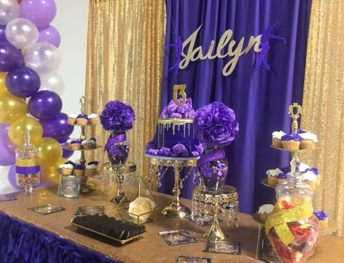 Jailyn's 13th Birthday Celebration Decor